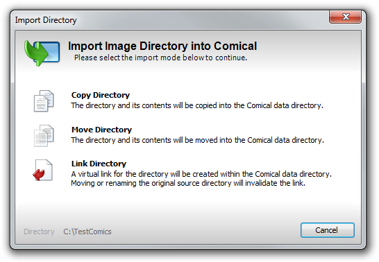 Import Directory